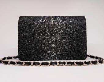 Black Stingray handbag