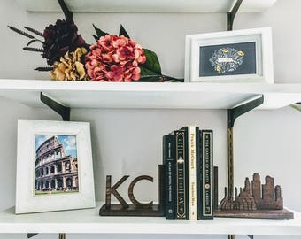 KC Skyline Bookends
