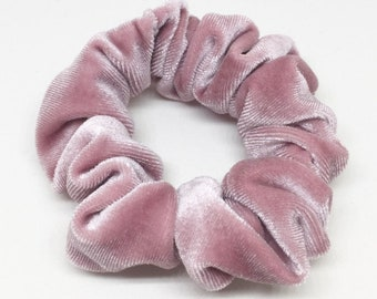 Rose Velvet Scrunchie