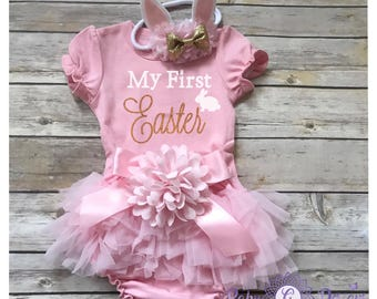First Easter Outfit girl