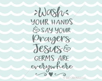 God bless this mess svg vector file cricut explore and more for Bathroom quotes svg