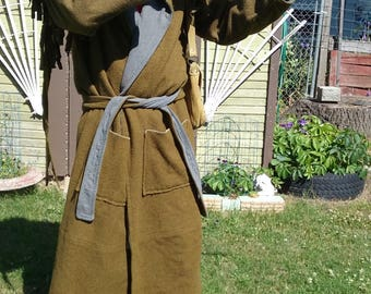 Frontier Style Mountain Man Wool Capote Coat - Made to Order