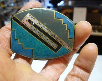 K41 Vintage 4 Color Shield Pin.