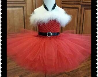 Santa Tutu Dress- Style 1