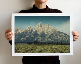 Grand Teton 0986 Art Print, Grand Teton National Park, Wyoming Landscape