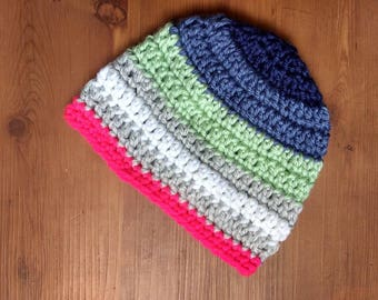 Baby Beanie Striped Hat