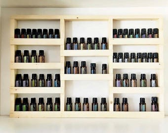 Essential oil shelf, Nail polish organizer, nail polish rack, nail polish shelf, salon decor, oil rack, oil storage, hanging shelf