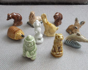 Wade Whimsie Collection Of Ten Figures