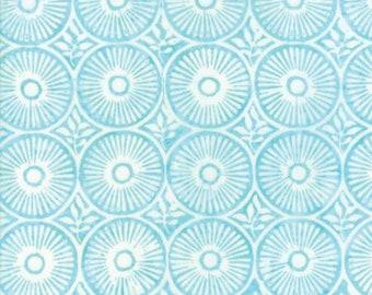 Moda LONGITUDE BATIKS by Kate Spain-aqua (27259 88)-by the YARD