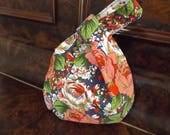 Project Bag Handmade Ooak Japanese Knot Bag sock size