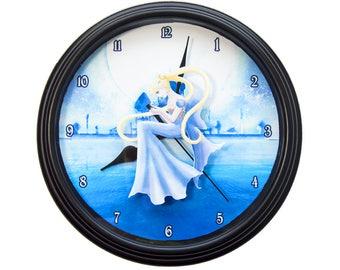 Eeveelution 3D Wall Clock Pokemon Clock Pokemon Decor