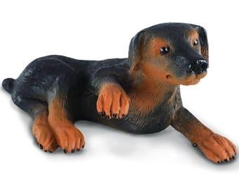 Fairy Garden  - Doberman Pinscher Puppy - Miniature
