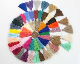 TEN 10 PIECES Cotton TASSEL Bracelet size 25mm High Quality
