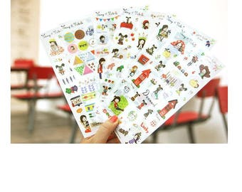 Odong et Valerie North Europe stickers