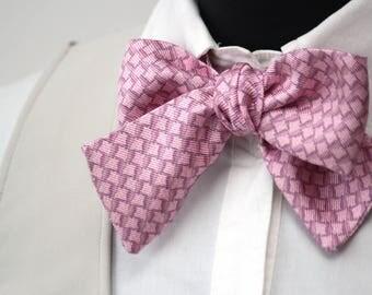 Women scarf Silk scarf Women bow tie Twill scarf 100% silk BoomBow W035
