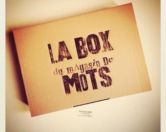 La BOX 1 du Magasin de Mots: La MAGIE des MOTS