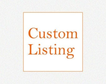 Customized listing for Audrey Drury