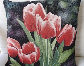 Tulips Tapestry Cushion Cover