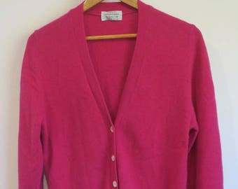 Hot Pink United Colors of Benetton Cardigan