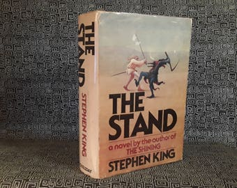 The Stand  Stephen King  Hardcover First Book Club Edition Horror Book, 1978, Randall Flagg, Author of The Shining, IT, Salems Lot, Carrie