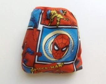 Spider-Man diaper cover