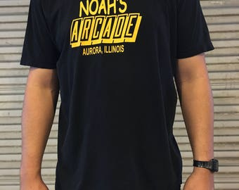 Wayne's World Noahs Arcade T-Shirt Size XL