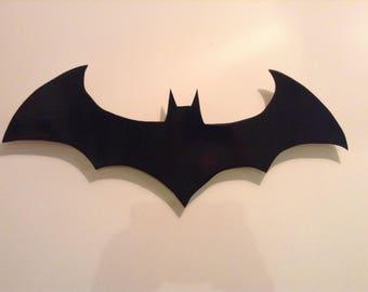 Bat symbol wall hanging