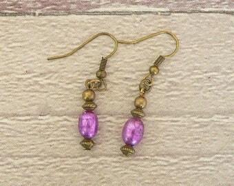 Pearl Earrings, Bronze Earrings, Victorian Earrings, Pearl Jewellery, Victorian Jewellery, Pearl Jewelry, Victorian Jewelry