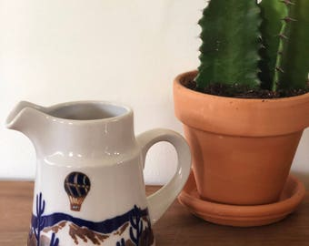 Small Cactus Pitcher, Noritake, Up Up and Away, Primastone