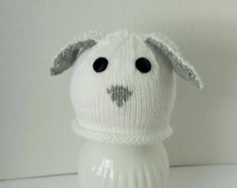 Lamb Hat for Baby 1 to 3 Years Old