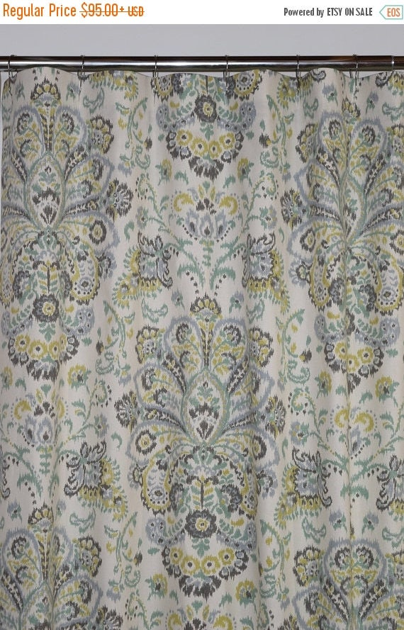 Like this item? - Weekend Sale Custom Fabric Shower Curtain Stall 54 X 78 72 X