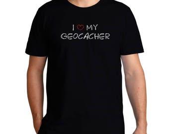 I Love My Geocacher T-Shirt