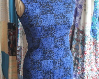Blue shift dress REF606