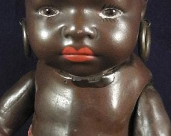 """Antique Heubach Koeppelsdorf """" Suedseebaby"""" Porcelain Doll,Baby, circa 1920/30"""