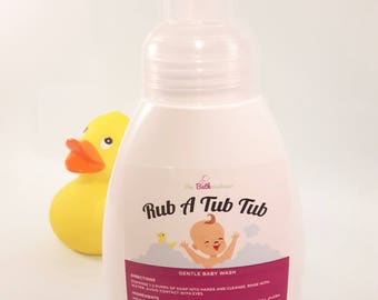 Gentle Baby Soap, Baby Body Wash, Baby Shampoo