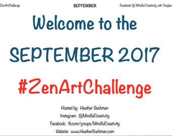 ZenArtChallenge September 2017