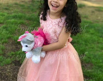 Tulle Dress, Toddler dress, birthday dress, flower girl