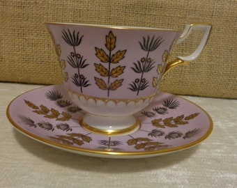 Vintage Tuscan Bone China Teacup and Saucer