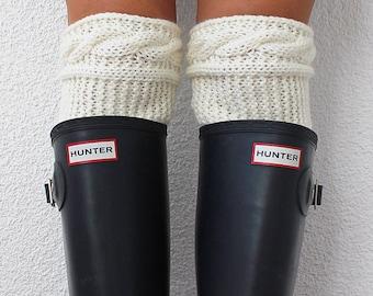 Knitted Legwarmer, Soft Hosiery