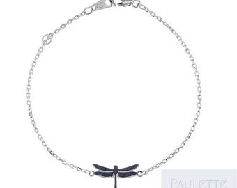 925 Silver Dragonfly bracelet