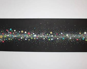 "Abstract acrylic painting ""Dots"""