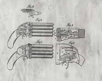 Muzzle Loading Fire-arm Patent #26538 dated December 20, 1859.