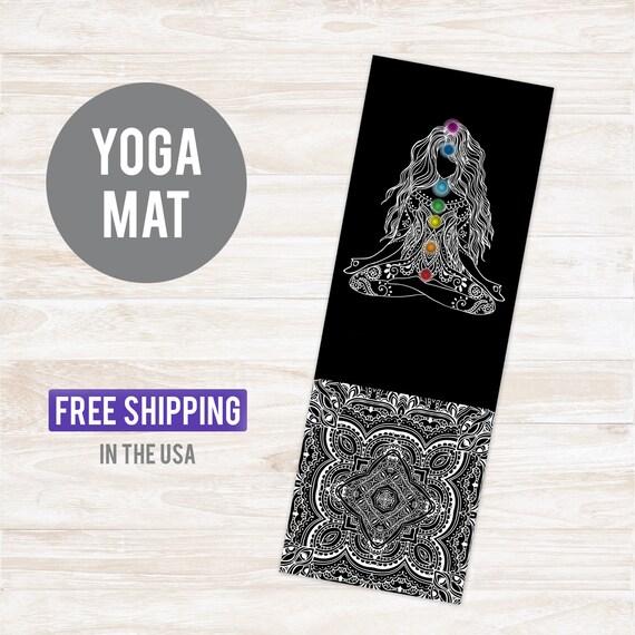 Yoga Mat Chakra - Free Shipping