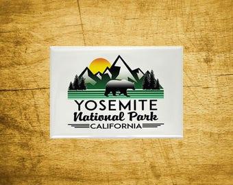 "Magnet Yosemite National Park Refrigerator 2.125"" x 3.125"" California"