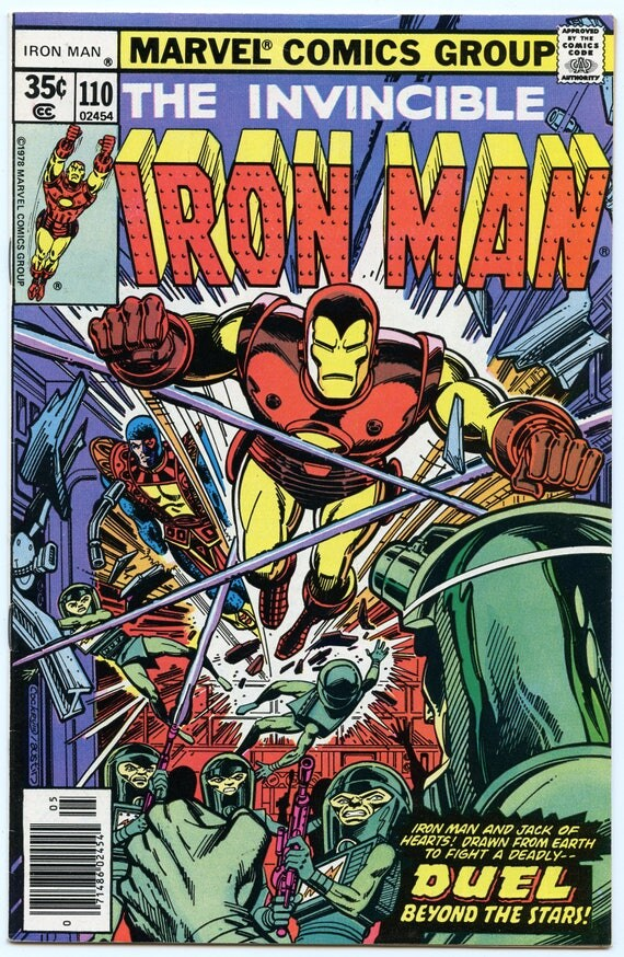 Iron Man 110 May 1978 NM- (9.2)