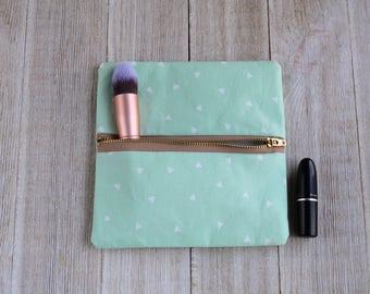 makeup bag-cosmetic bag-toiletry bag-small cosmetic bags-zippered pouch-cosmetic pouch-zipper bag-small makeup bag-toiletry bag small