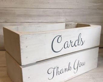 Wedding Card Box/Bridal Shower/Baby Shower/Parties