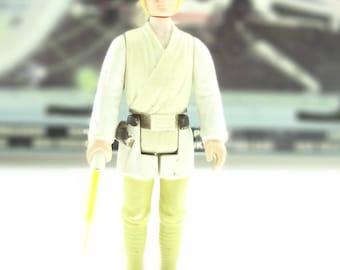 Star Wars Action Figure Luke Skywalker in Farm Boy Outfit 1977