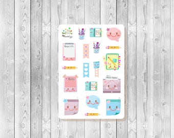 S103  - 18 Kawaii Planner Stickers