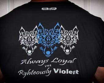 Always Loyal yet Righteously Violent * Short-Sleeve Unisex T-Shirt